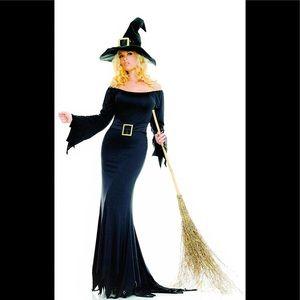 Halloween Costume - 2 pc Cauldron Witch Costume